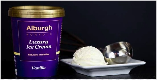 Alburgh Luxury Vanilla Ice Cream